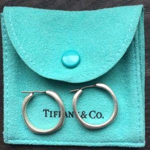 Tiffany & Co hoop earrings